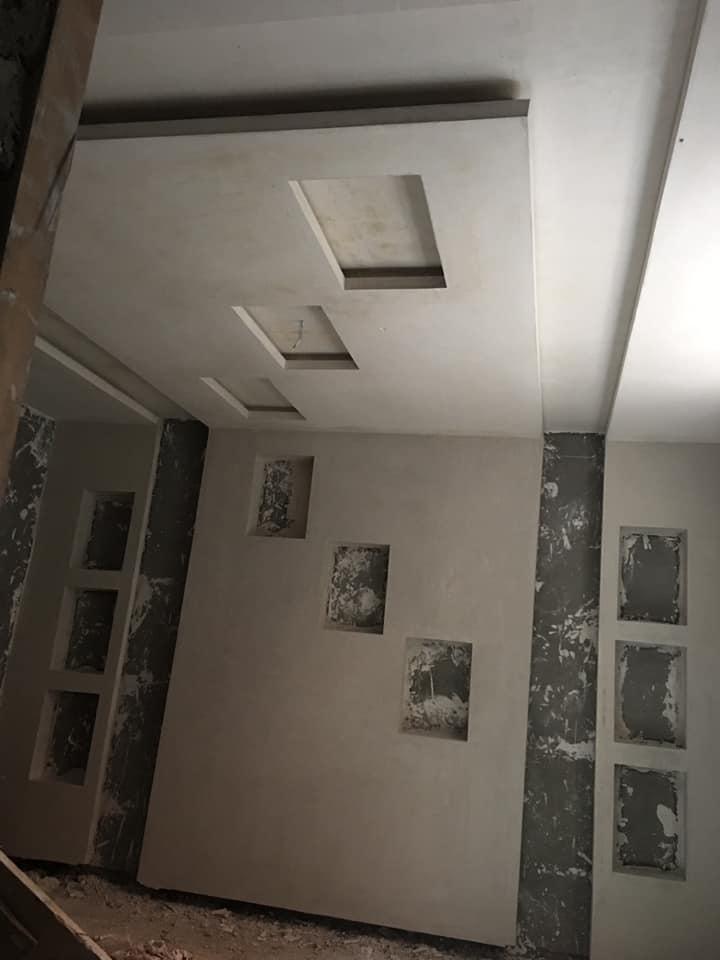 lissage plâtre Entreprise de Plâtre à Lausanne